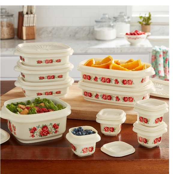 New Pioneer Woman Storage Container Set
